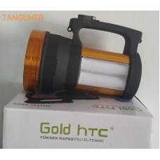 Gold HTC GHTC-2805 Aliminyum Gövde Profesyonel Fener