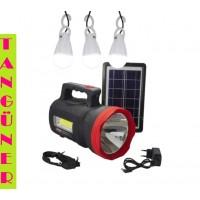 Gold Silver GS-540 Güneş Enerjili Solar Lamba
