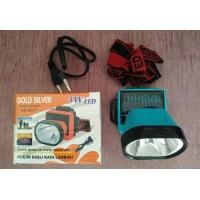 Gold Silver GS-900T 3W Güneş Enerjili Kafa Feneri