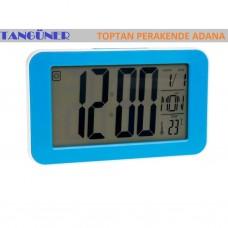 Kadio KD-1828 Alkış Sensörlü Dijital Alarmlı Masa Saati