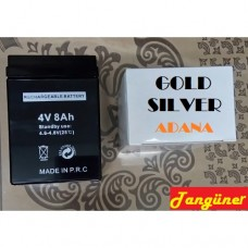 Gold Silver 4v 8Ah Akü