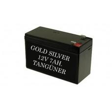 Gold Silver 12v 7Ah Akü